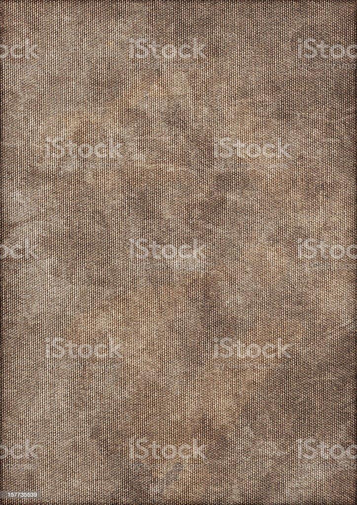 Artist's Hi-Res Cotton Duck Canvas Mottled Vignette Grunge Texture royalty-free stock photo