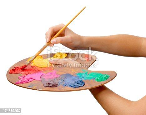 istock Artist's Palette 174789250