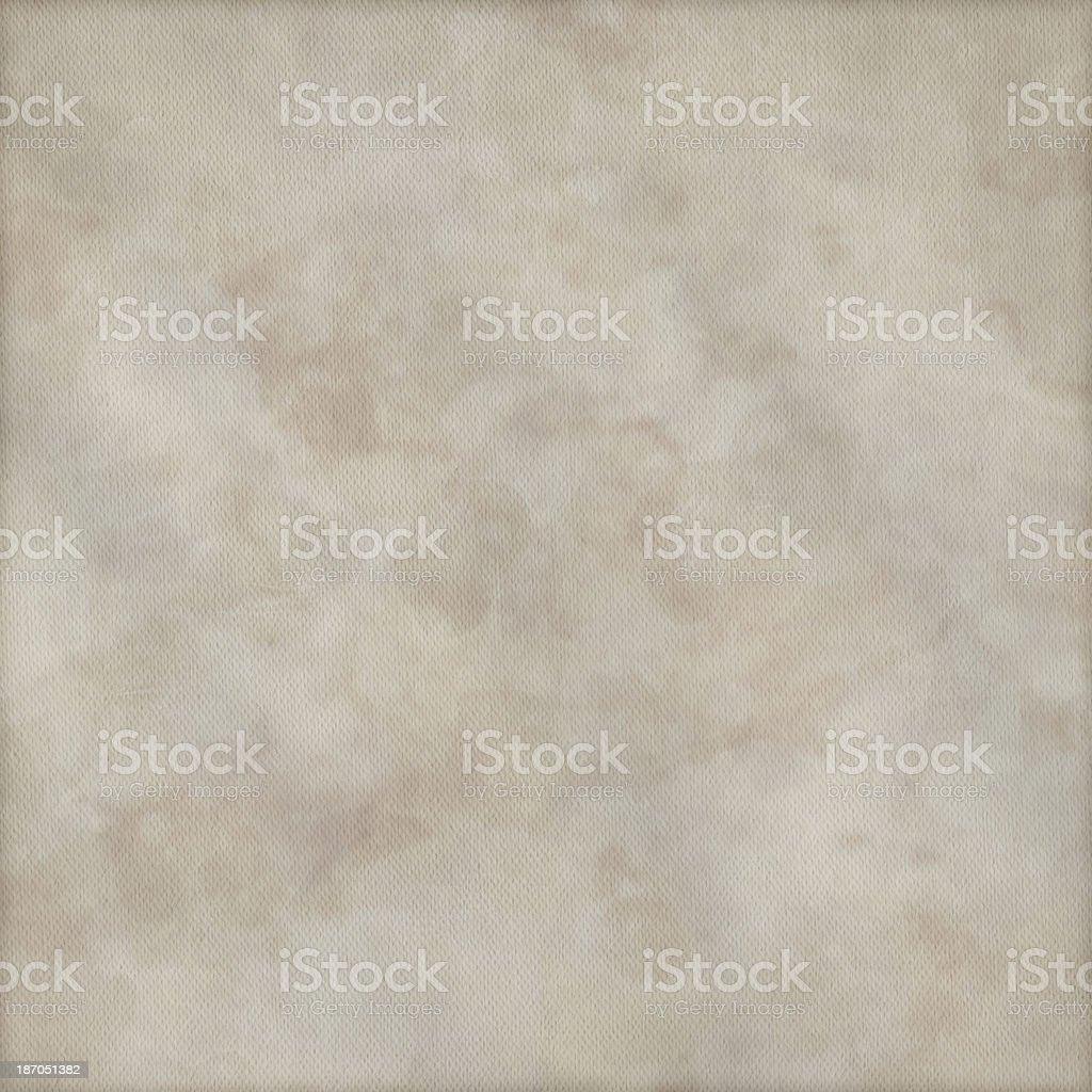 Artist's Primed Cotton Duck Canvas Crumpled Mottled Vignette Grunge Texture royalty-free stock photo