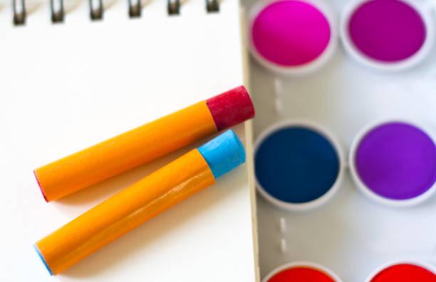 Croquis, Pastels, aquarelles d'artiste - Photo