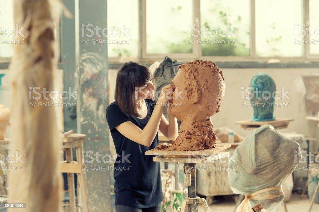 Artist's Workshop stock photo
