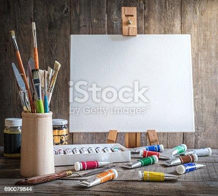 671393252istockphoto Artist's workshop. 690079844