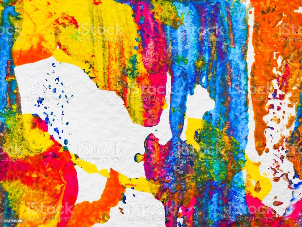 arts acrylic background color paint stock photo