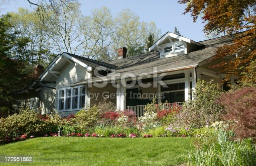 bungalow style home frmo the arts and crafts eraOther pictures of the same house..