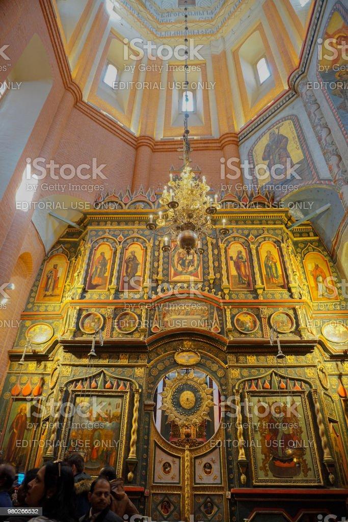 Kunstwerke an der Basilius Kathedrale, Moskau – Foto