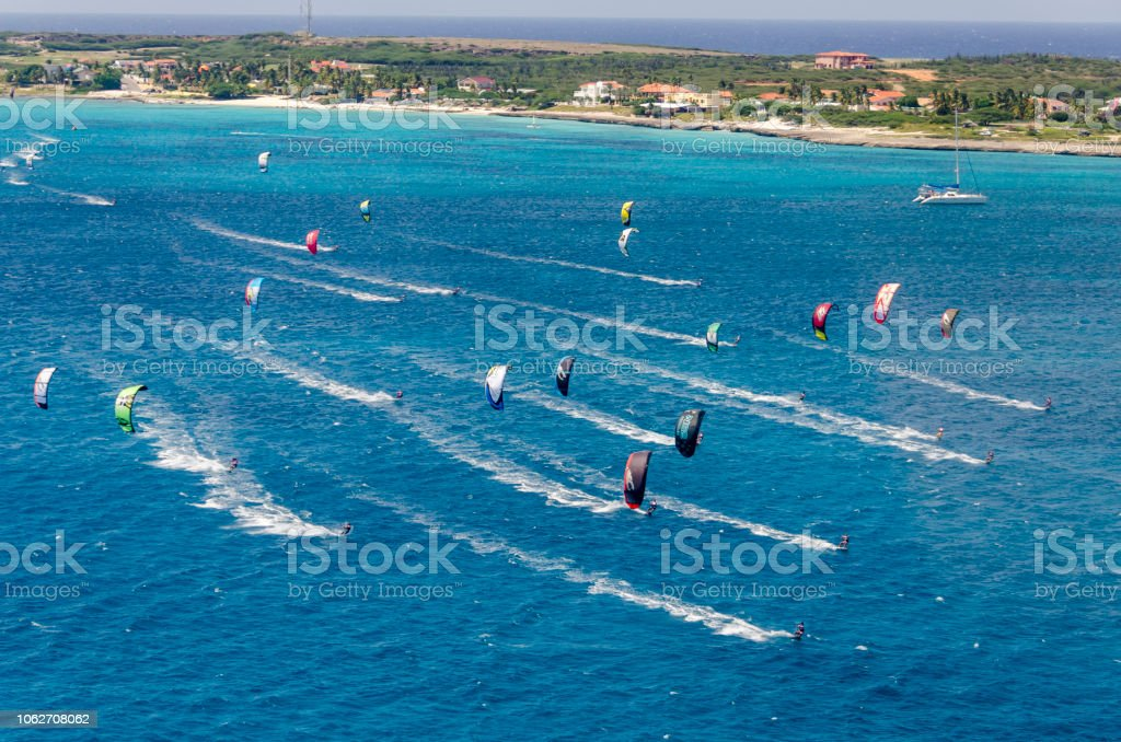 Aruba Island. Caribbean Sea. stock photo
