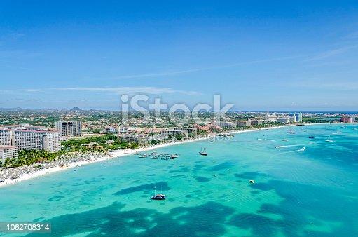 istock Aruba Island. Caribbean Sea. 1062708314