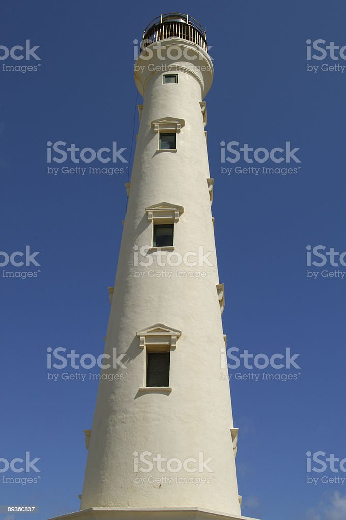 Aruba Lighthouse royalty free stockfoto