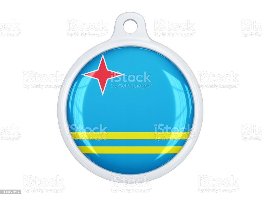 Aruba medal stock photo