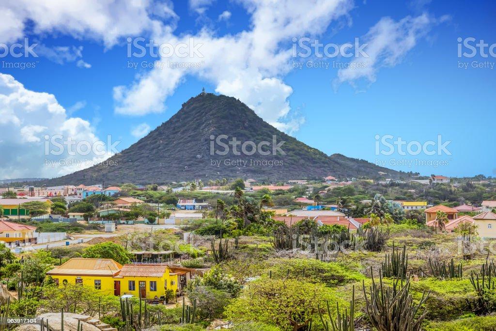 Aruba Mountain Past Homes - Royalty-free Aruba Stock Photo