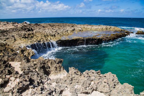 Aruba, North Shore stock photo