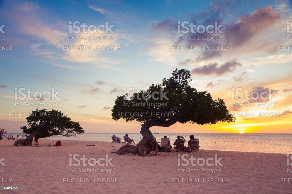 Aruba Tourism stock photo