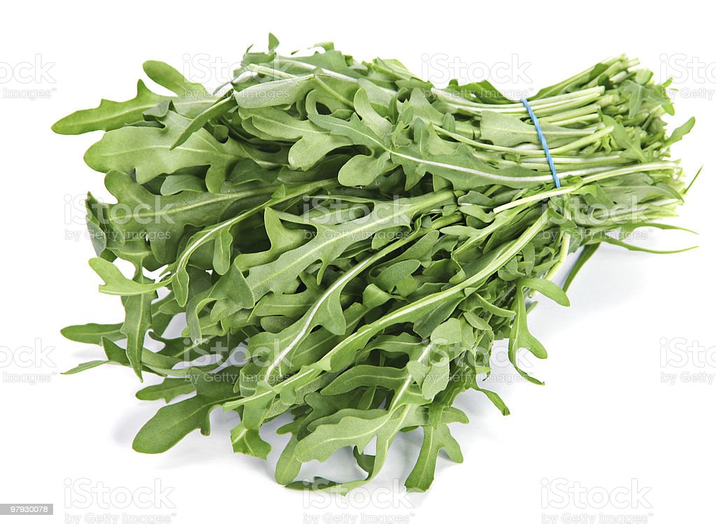 Arugula herb royalty-free stock photo