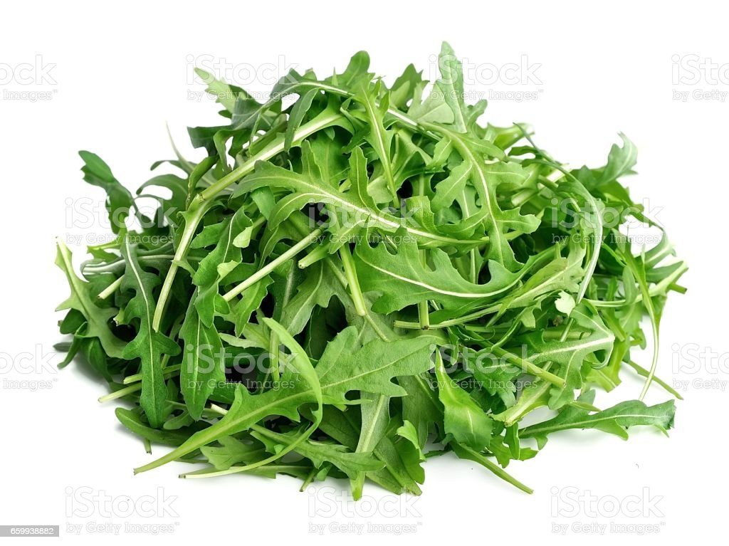 Arugula salad . stock photo
