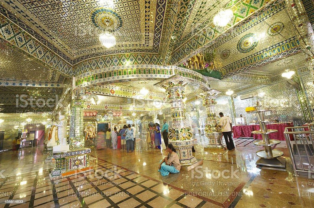 Arulmigu Sri RajaKaliamman Temple stock photo