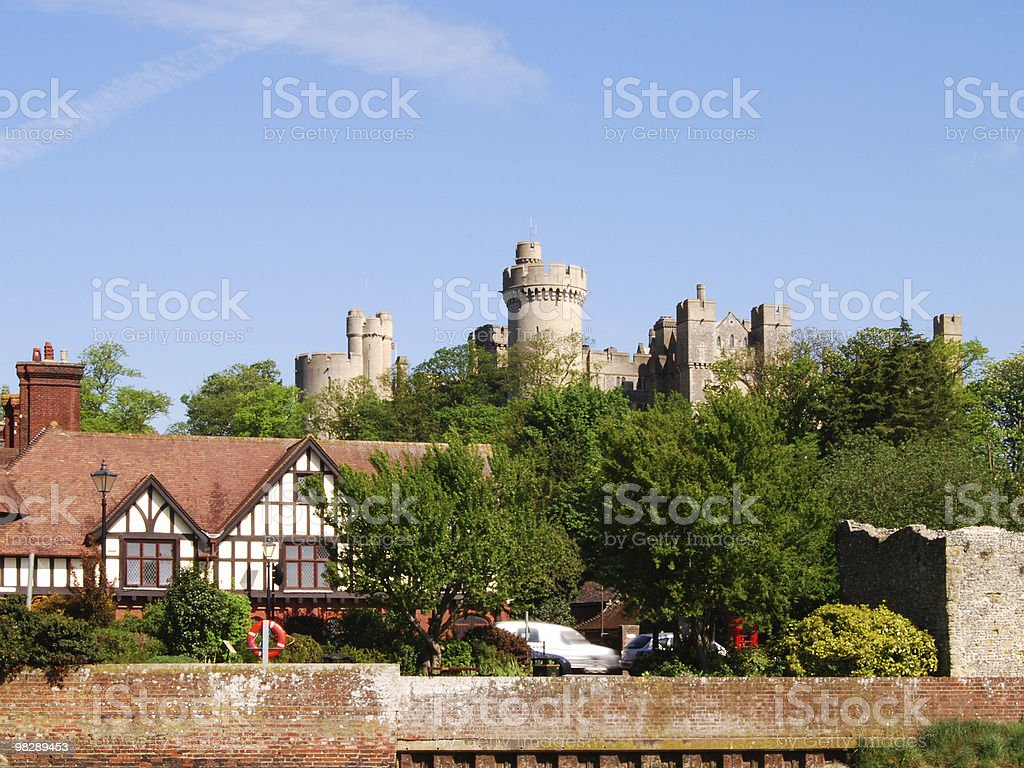 Arundel Castle. West Sussex. England royalty-free stock photo
