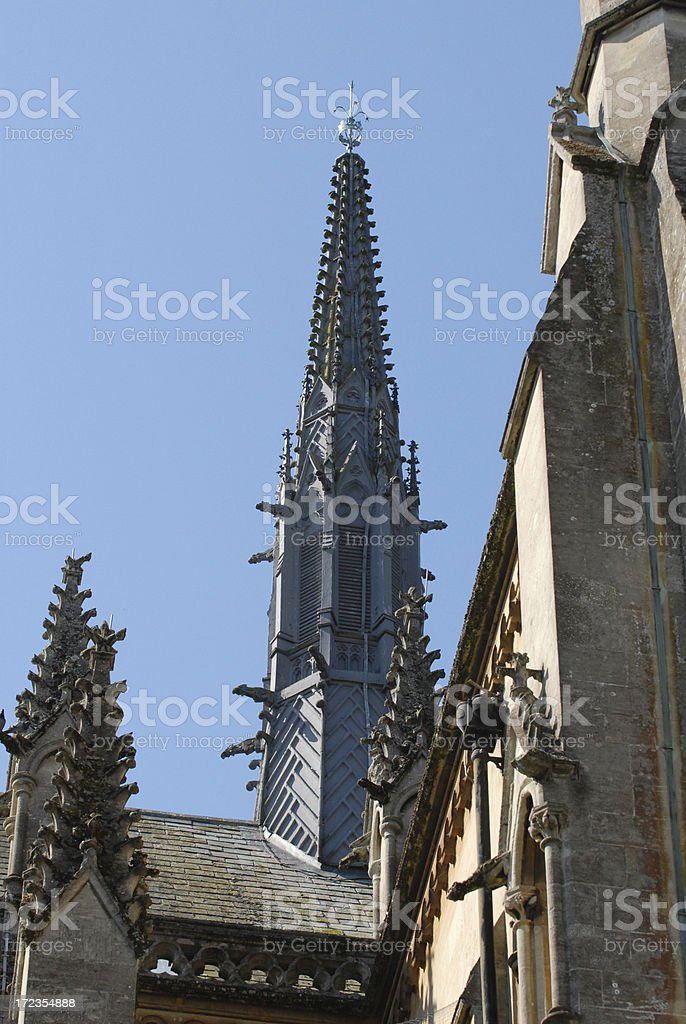 Arundel Cathedral Main Tower royalty-free stock photo