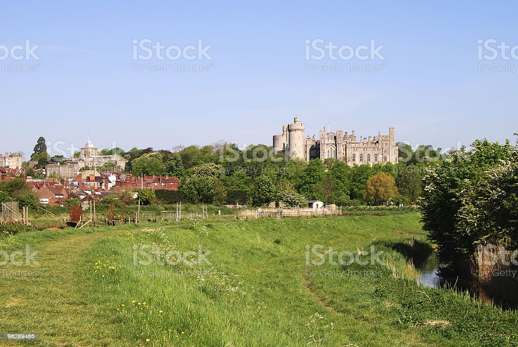 Arundel . West Sussex. England royalty-free stock photo