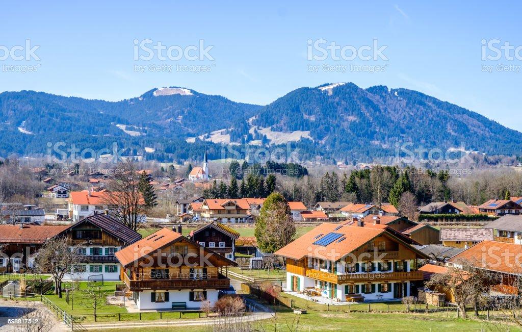 arzbach - bavaria stock photo