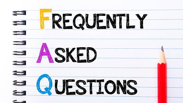 Wie häufig gestellte Fragen-FAQs Text – Foto