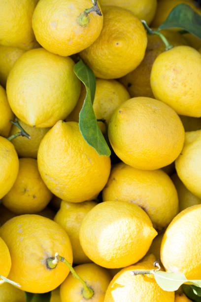 As shot fresh lemon photo stock photo