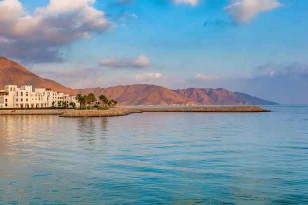 as sifah coastline, oman - oman стоковые фото и изображения