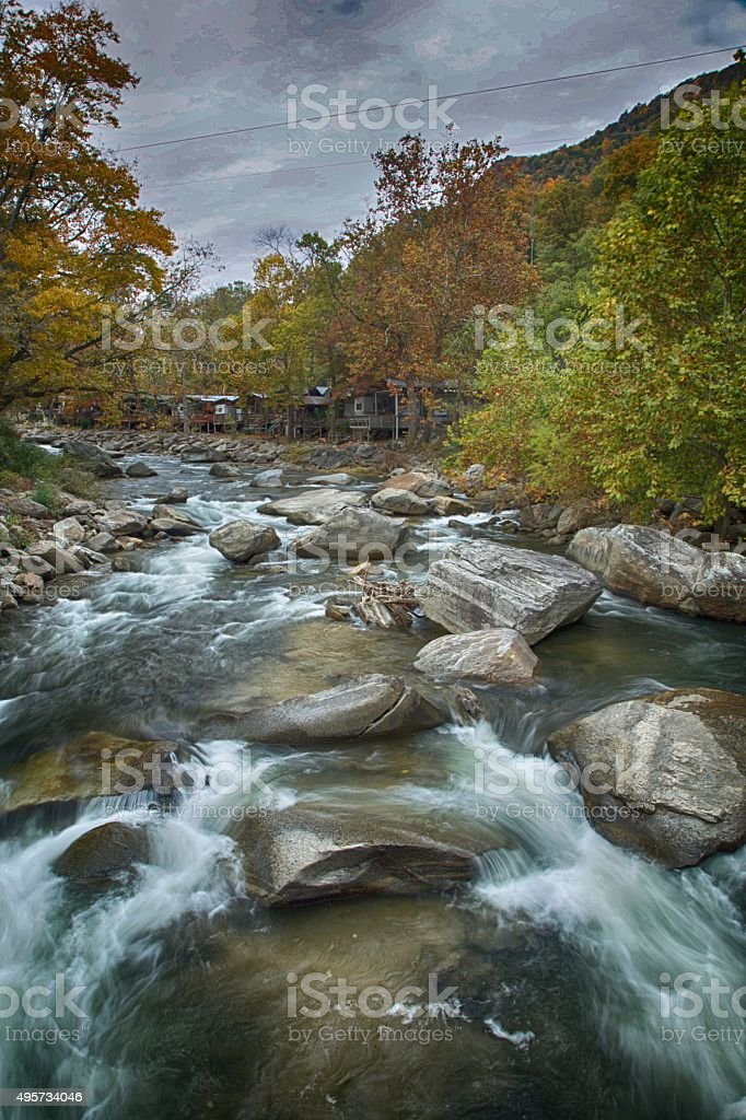 As the Water Flows stock photo