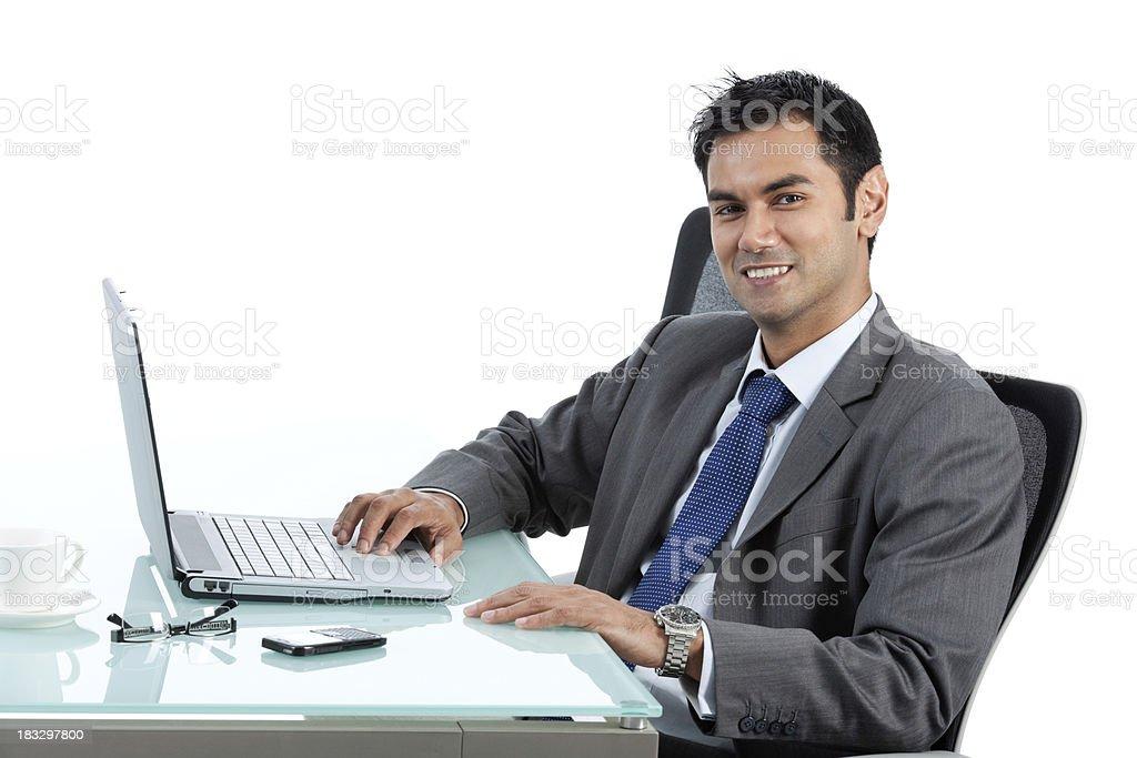 Asain Businessman stock photo