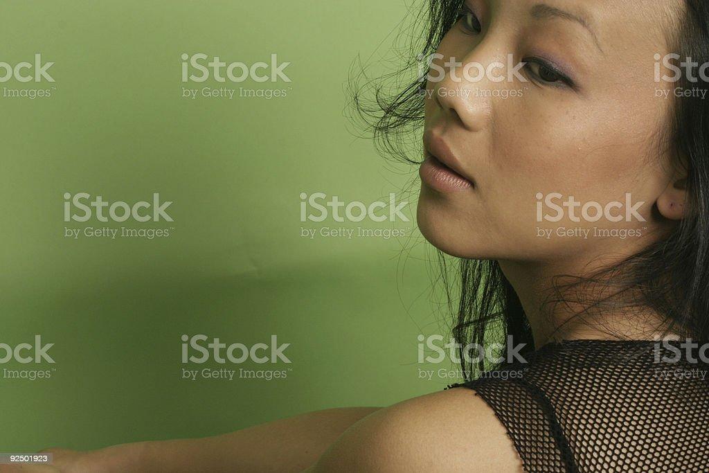 Asain Woman royalty-free stock photo