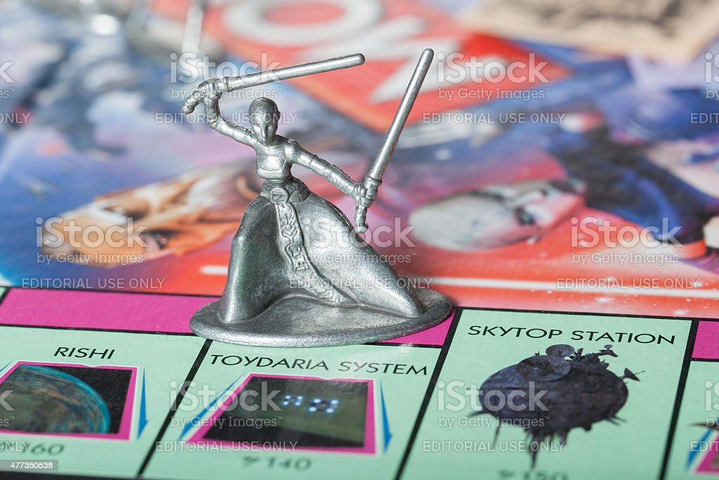 Asajj Ventress-Monopoly stock photo