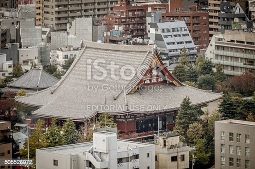 464620985 istock photo Asakusa district with famous Sensoji Temple - Tokyo 505526972