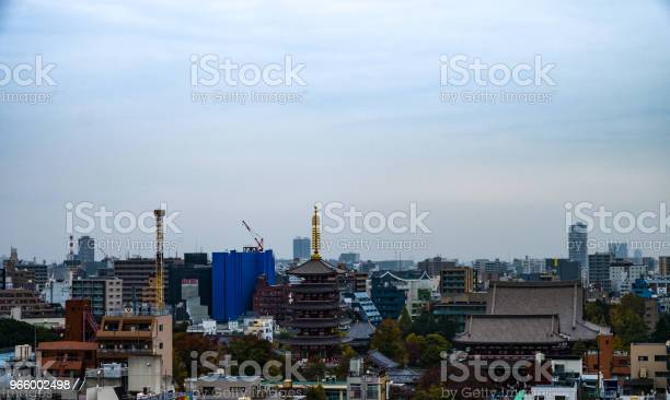 Asakusa Skyline Tokyojapan Stock Photo - Download Image Now