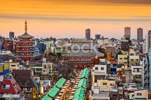 464620985 istock photo Asakusa, Tokyo, Japan 464620985