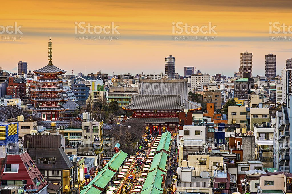 Asakusa, Tokyo, Japan stock photo