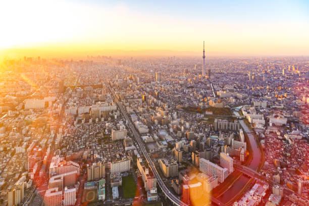Asakusa, Tokyo Himmelsbaum, Japan Skyline – Foto