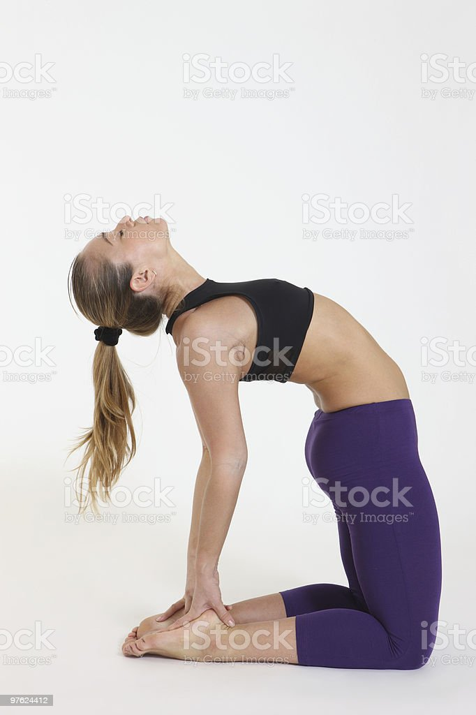 Asana royalty-free stock photo