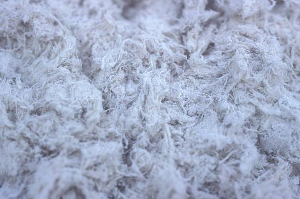 Asbestos fiber stock photo