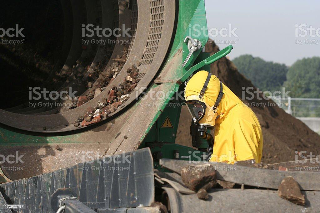 asbestos stock photo
