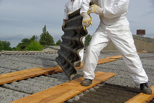 asbest - entfernt stock-fotos und bilder