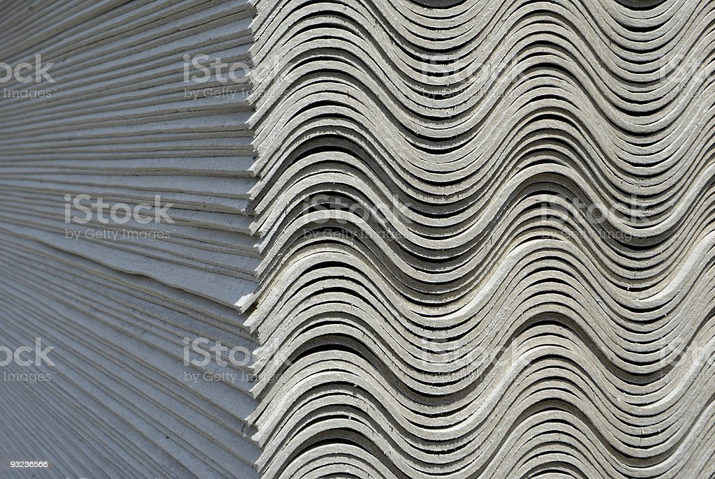 asbestos royalty-free stock photo