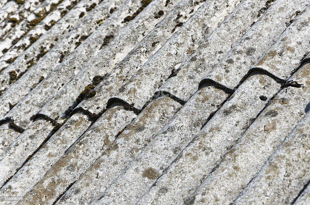 Amianto telhado - foto de acervo