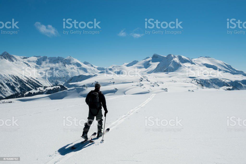 Alp dağ arazi artan royalty-free stock photo