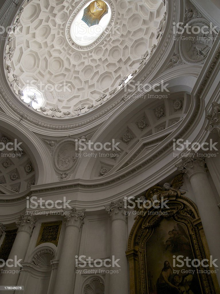 Ascending to heaven royalty-free stock photo