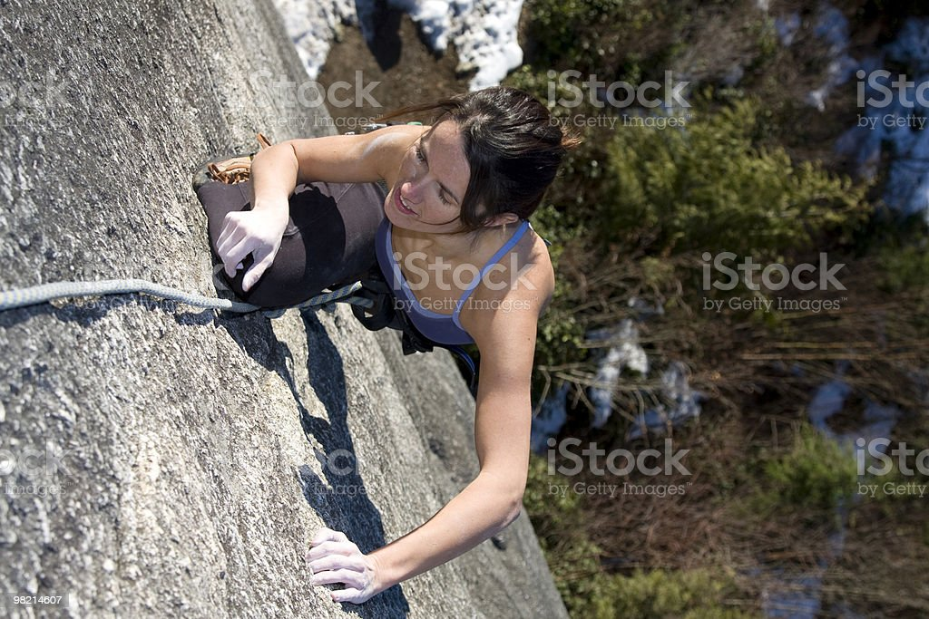 Ascent royalty-free stock photo