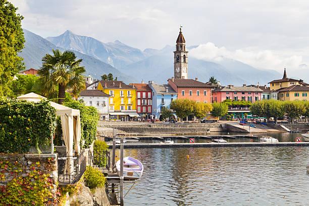 Ascona, Ticino, Switzerland stock photo