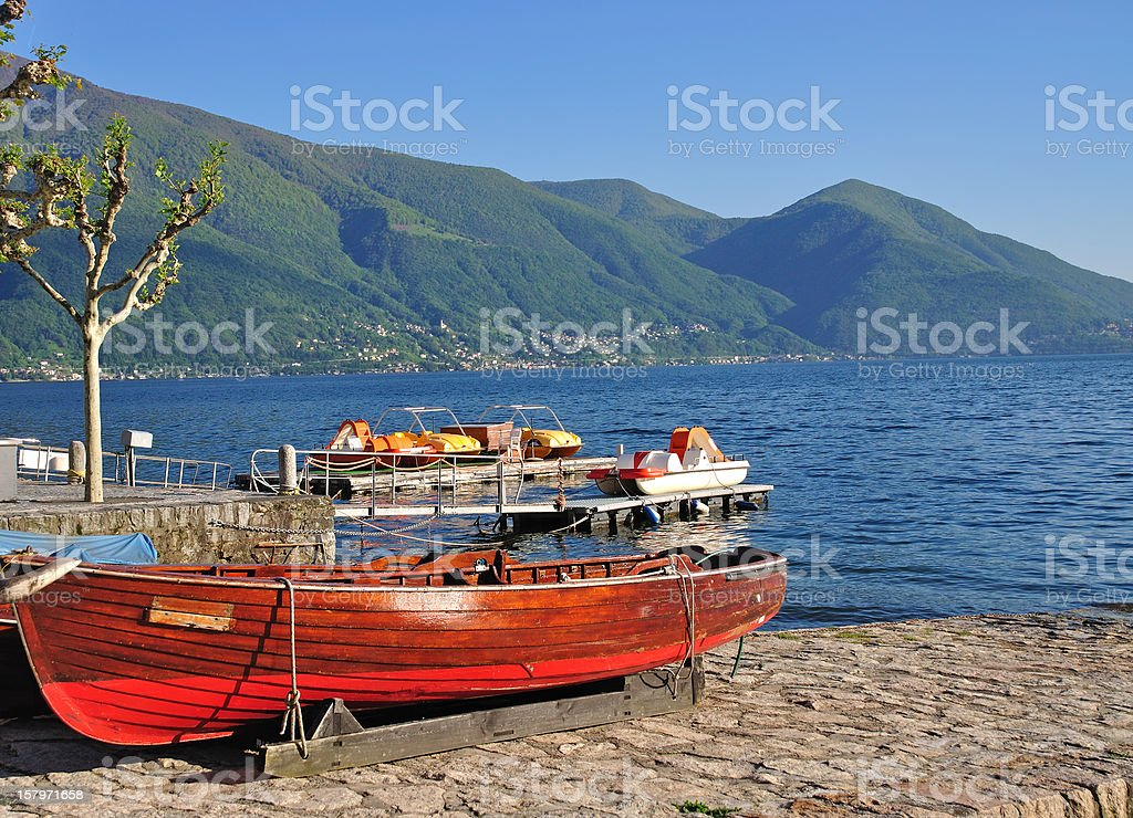 Ascona,Lake Maggiore,Switzerland royalty-free stock photo