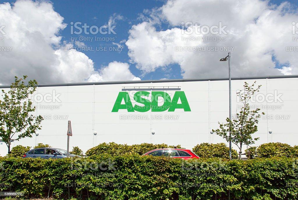Asda stock photo