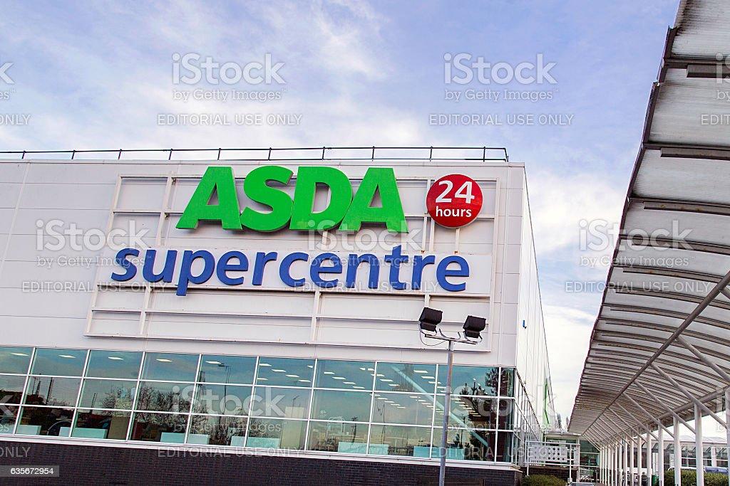 Asda Super Store stock photo