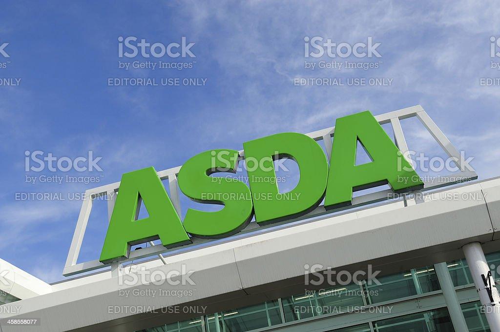 Asda Supermarket stock photo