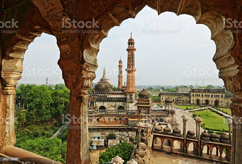 Asfi Mosque shrine stock photo